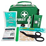 2 in 1 Large First Aid Kit for Home, Car, Camping, Office, Boat, and Traveling 96