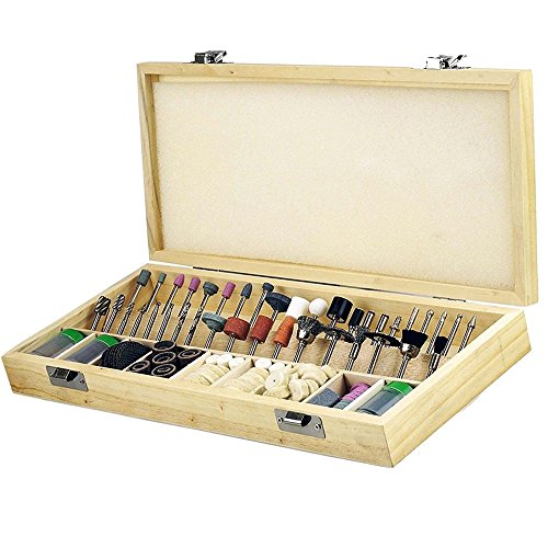 Rotary tool accessories kit,Eagles 228pcs dremmel tool kit for sanding/polishing/cutting /carving wood,stone, jewelry, glass, stone, ceramic