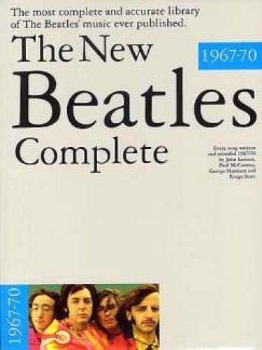 Music Sales Beatles The New Complete 1967–1970Notas Pop, Roca,.... Piano voz Guitarra