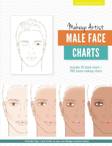 Makeup Artist Male Face Charts (The Beauty Studio Collection, Band 7)