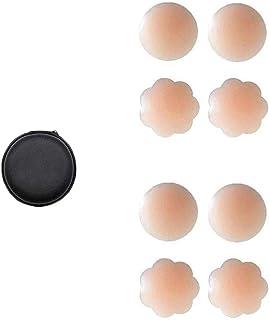 2Paires QueenT Cache-t/étons Auto-adh/ésifs Couvre des Autocollants Minces en Silicone Anti-Bosses pour ar/éoles