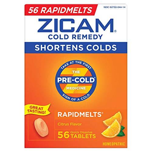 Zicam Cold Remedy RapidMelts Citrus Flavor Quick...