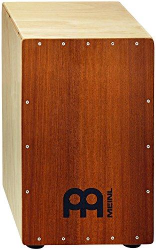 Meinl Percussion HCAJ1MH-M Headliner Series String Cajon, Frontplatte: Mahagoni, mittlere Größe