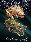XIAOTAIZINAI Diamante per Adulti Set d'Arte Fiore d'oro Pittura Diamante Fai da Te 9D Kit Pittura Diamante d'Arte Regalo per la Decorazione della casa 40X50cm Senza Cornice