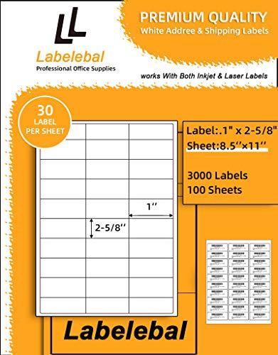 Labelebal 30-UP Address Labels 1
