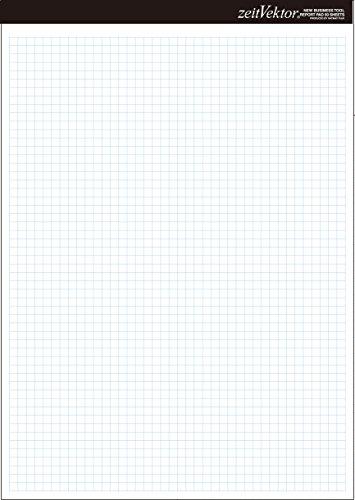 レイメイ藤井 レポート用紙 両面対応 zeitVektor A4 ZVP455