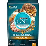 Purina ONE Natural, Grain Free Dry Cat Food, True Instinct Grain Free With Real Chicken - 3.2 lb....