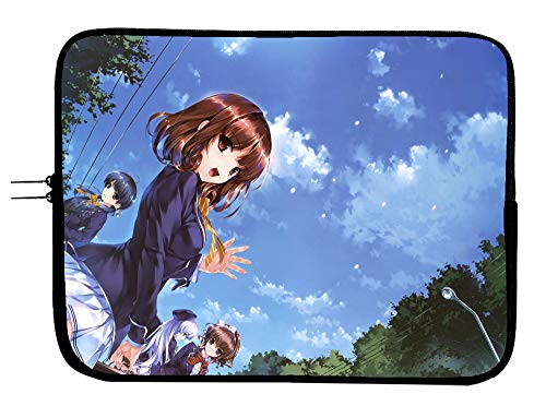 in Search of The Lost Future Anime Laptop Sleeve Bag 15 Inch Laptop Case Mousepad Surface MacBook Pro/MacBook Air Laptop/Tablet Water Repellent