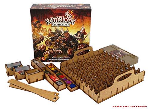 docsmagic.de Organizer Insert for Zombicide Black Plague Box - Encarte