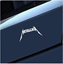 Pegatinas Coche 20Cm X 10Cm Car Styling Metallica Decal Jdm Car Window Bumper Truck Decal Personality Car Sticker Graphics