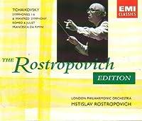 The Rostropovich Edition: Tchaikovsky: Symphonies 1-6 / Manfred Symphony / Romeo & Juliet / Francesca da Rimini by Tchaikovsky