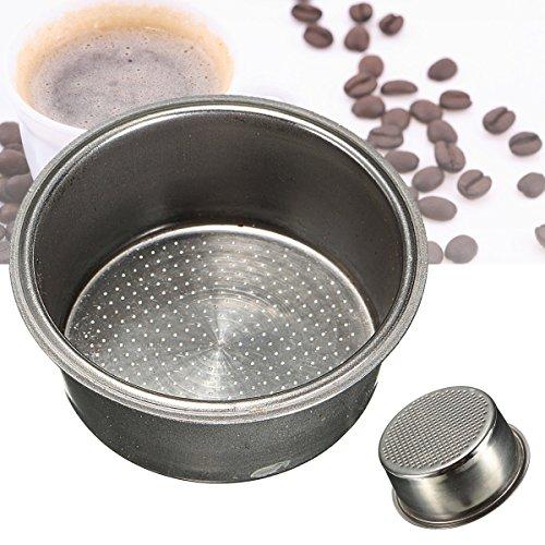 MASUNN Dia 51Mm roestvrij staal niet onder druk filter mand herbruikbare koffie filter voor koffiemachine