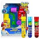 Disney Toy Story Bath Toys Playset Bundle - 16 Pc Toy Story Bathtub Toys for Kids Boys Girls with Color Bubble Bath Tubes
