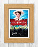 Mary Poppins Reproduction Signed Film Poster Starring Julie