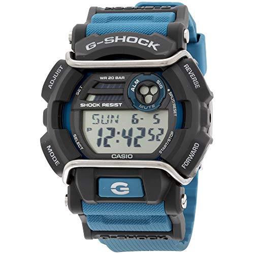 Orologio Casio display cinturino Resina Blu e quadrante Grigio GD-400-2CR