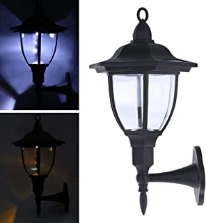 Lights & Lighting Led Lamps Solar Column Lamp Ip65 Waterproof Outdoor Led Wall Lamp Modern Surface Mounted Cube Led Garden Porch Light Landscape Fine Quality