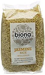 This brown jasmine rice is unprocessed for maximum health benefit, and the rougher texture is great for maximum flavour-absorption The subtle fragrance of Jasmine rice makes it an ideal accompaniment for your favourite exotic dishes Jasmine Rice is a...