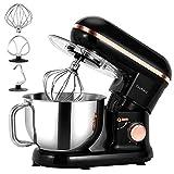 Cookmii Universal Küchenmaschine 1090W Rührmaschine, 5.5 Liter Mixbecher, 6-stufige...