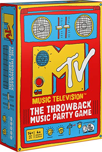 MTV Game, The Music Throwback Party Quiz Board Game, for Adults and Teens Ages 14 and up
