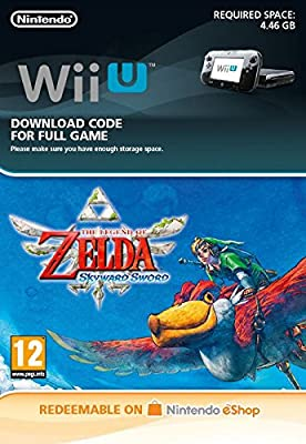 The Legend of Zelda: Skyward Sword Wii [Wii U Download Code]
