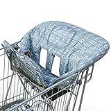Amazy Protector para el carro de la compra – Funda para asiento de la compra y trona para mayor higiene y seguridad de su bebé