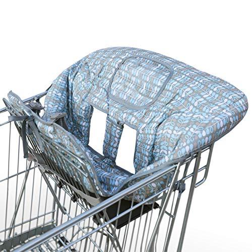 Amazy Einkaufswagenschutz mit Gurt und extra weichem Beinschutz – Der praktische Sitzbezug für Einkaufswagen und Hochstuhl bietet Ihrem Baby optimalen Schutz und mehr Hygiene beim Einkaufen