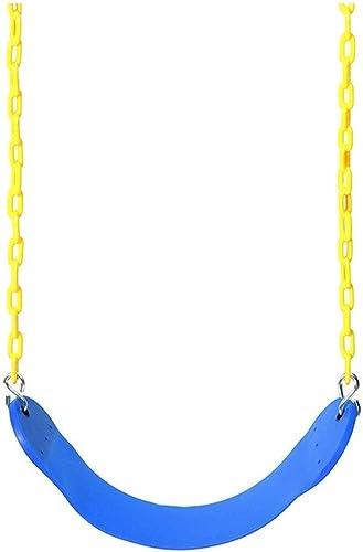 Liutao Schaukelzubeh für Kinder Grün Plastic Indoor Outdoor Portable Swing (Farbe   Blau, Größe   67  14  0.7cm)