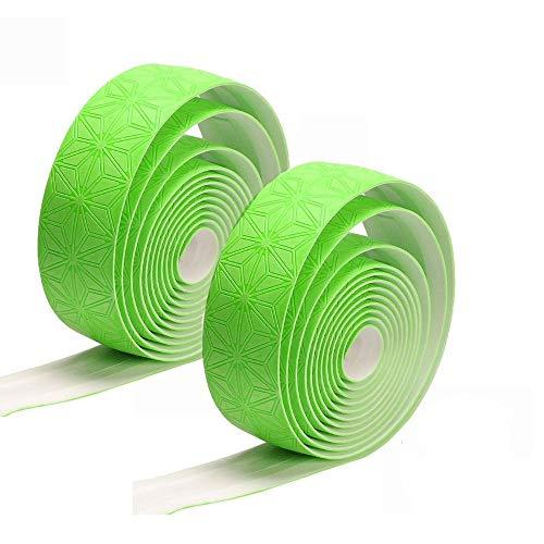 Correa de manillar de bicicleta Bicicleta manillar cinta estrella fade correa bicicleta barra cinta ciclismo carretera bicicleta manillar cinta bicicleta impermeable manillar cinta ( Color : Green )