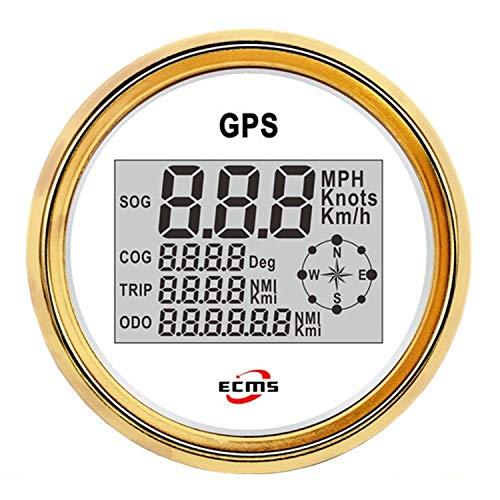 Universal 12 V / 24 V Calibrador Automático GPS Velocímetro Digital SOG COG ODO TRIP Medidor for Motocicleta Coche Camión Barco Yate