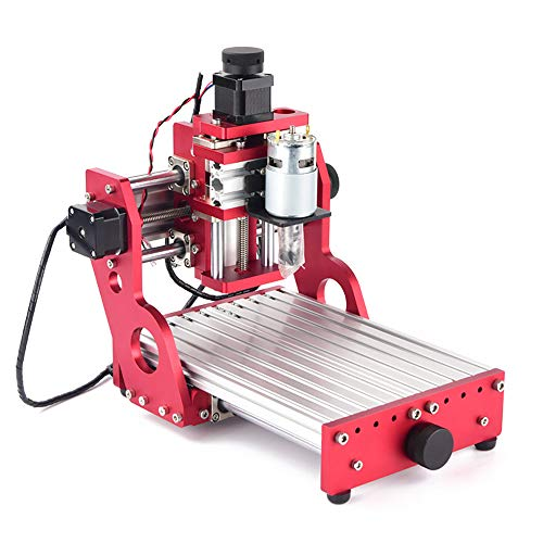 TOPQSC CNC 1419 Metall Gravur Schneide Maschine Router-Desktop DIY Fräse Aluminium Kupfer Holz PVC PCB Maschine