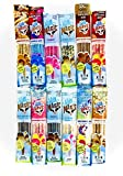 Milk Magic Fun & Challenge Sampler Pack | 12 different flavors | 4 Straws each flavor | Total 48 straws