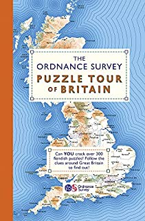 The Ordnance Survey Puzzle Tour of Britain: Take a Puzzle Journey Around Britain From Your Own Home (Puzzle Books) (1409184714) | Amazon price tracker / tracking, Amazon price history charts, Amazon price watches, Amazon price drop alerts
