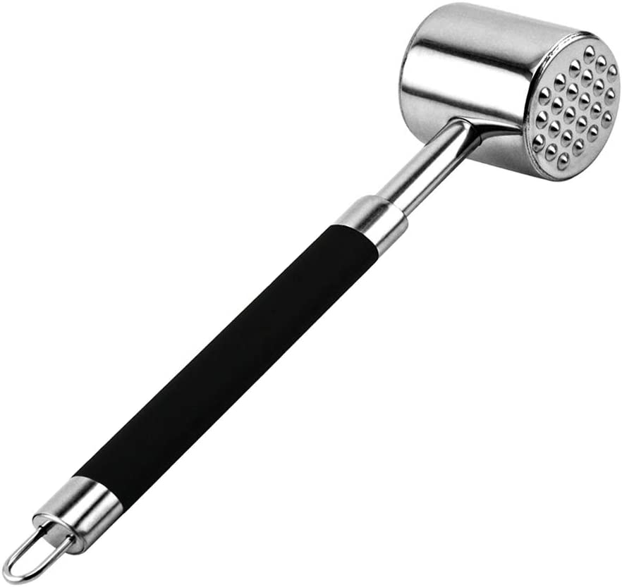 EHZ Meat Tenderizer Stainless Steel Max 58% OFF Popular product Heavy Duty Malle Hammer
