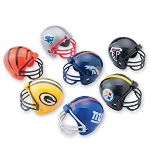 SmileMakers NFL Mini Football Helmets - Prizes 32 per Pack