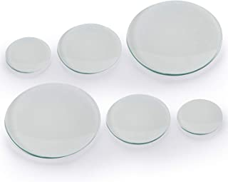 Young4us Watch Glass Beaker Cover Set, 6 Pcs Lab Watch Glasses in 150mm, 100mm, 70mm for Laboratory, Science and Chemical Experiment (150 mm x 2, 100 mm x 2, 70 mm x 2)