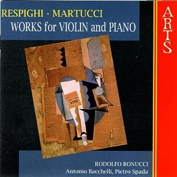 Respighi / Martucci: Works For Violin & Piano