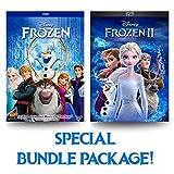 Frozen 1 & 2 DVD (Bundle Package)