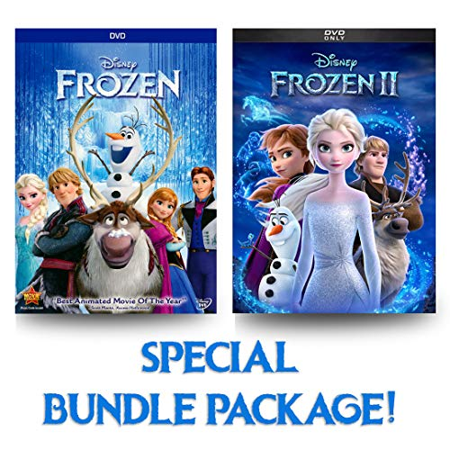 Frozen 1 & 2 DVD (Bundle Package)