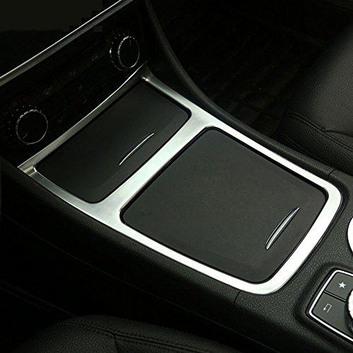 ABS Chromé mat Intérieur accessoire Centre Boîte de rangement Coupez Cendrier Cadre