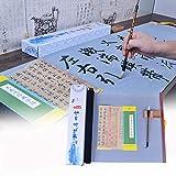 Tianjintang Regrabable No necesita tinta Caligrafía china Magic Scroll Set para Caligrafía Aprendizaje