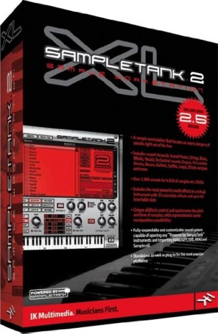 スクリュースクリュー有能な◆最新版◆ IK Multimedia SampleTank 2.5XL ◆マルチ音源 ◆『並行輸入品』