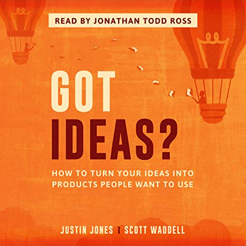 Got Ideas? audiobook cover art