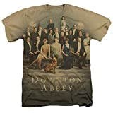 Downton Abbey unisex adult 60% cotton 40% polyester short-sleeve T shirt. In addition to being 4.8 oz with a 30/1 thread count, all our shirts are pre-shrunk with a double needle collar, sleeve, and hem made for both men and women. All our shirts are...