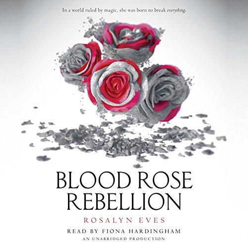 Blood Rose Rebellion audiobook cover art