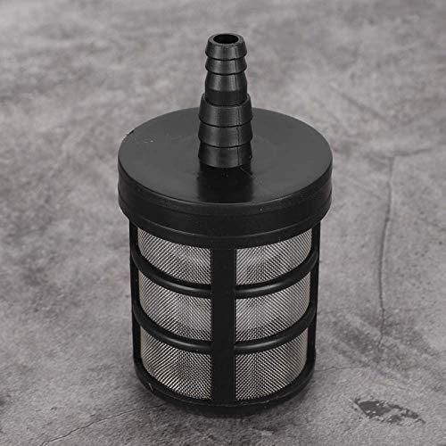 Filtro de filtro de bomba de agua 5 piezas de acero inoxidable de doble capa Filtro de bomba de agua de jardín Filtro de malla Rociador Accesorios Jardinería Jardinería al aire libre Filtro de entrada