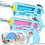 Zaloife Wasserpistole Spielzeug für Kinder Spritzpistole Wasser 350ml Water Gun Wasserpistolen Set,...