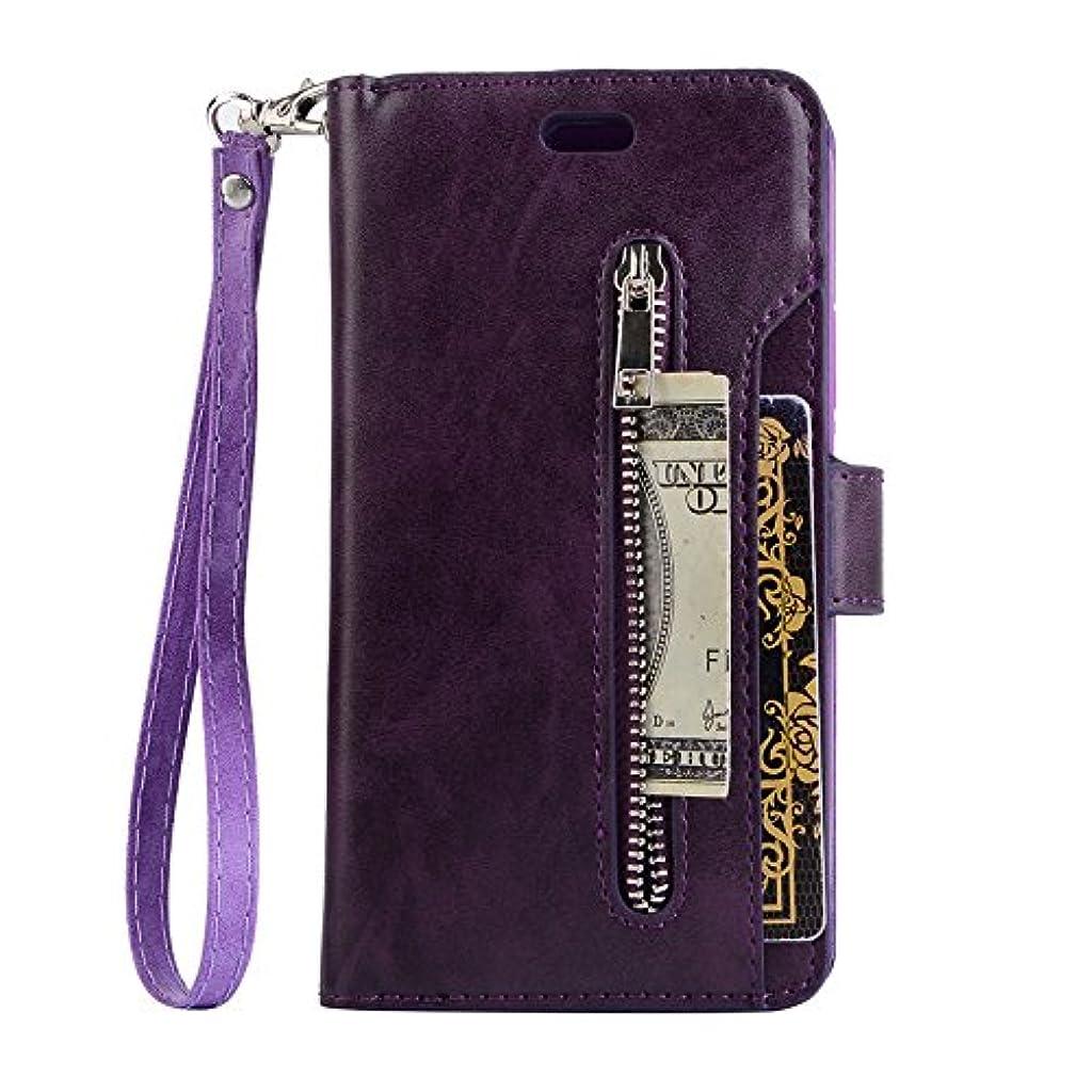 改修する吐き出す間違えたiPhone 8 ケース、INorton 本革ケース 手帳型 全面保護 衝撃吸収 カード収納可能 分離式カバー スマートケース iPhone 7/8対応