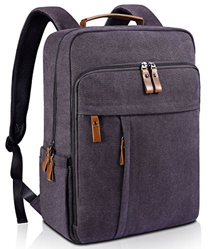 Estarer Computer Backpacks w/USB Charging Port for College Travel Outdoor Every Carrying Water Resistant 15.6 Inch Laptop Backpack