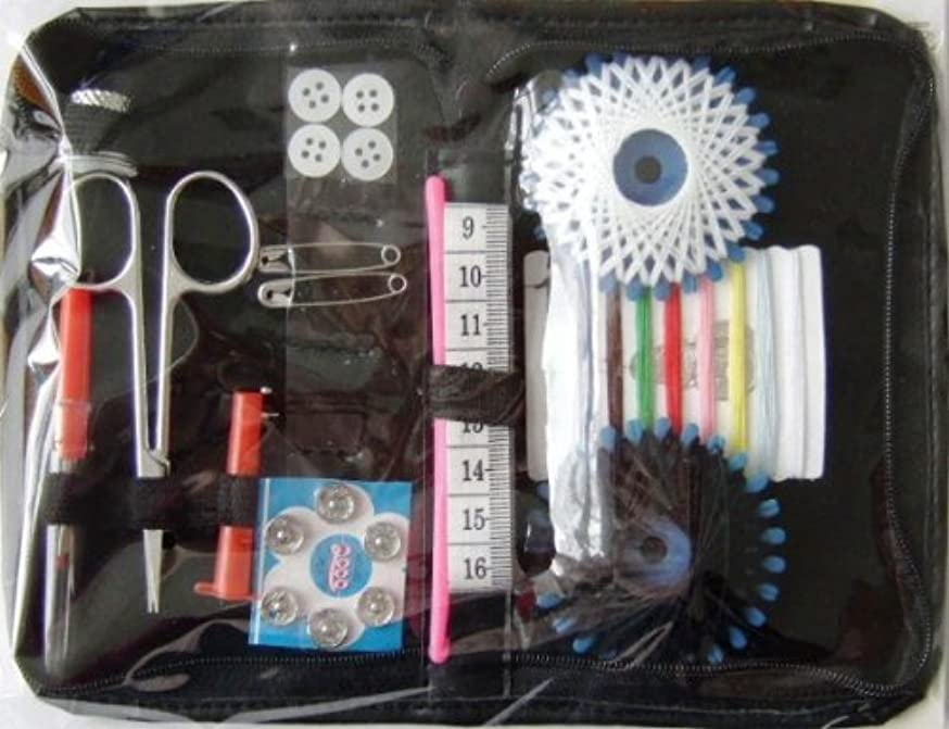 Kleiber Medium Sewing Kit inc Assorted Buttons and Fasteners