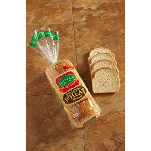 Gonnella Baking Number 1 Sliced White Bread Loaves, 16 Ounce -- 8 per case.